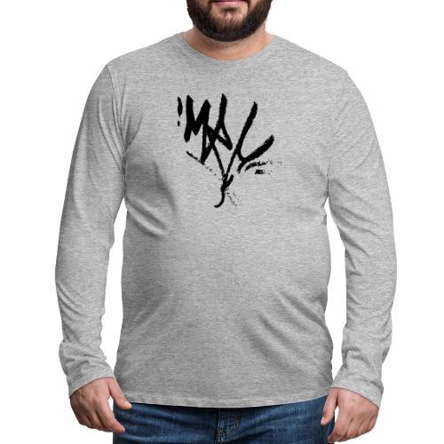mrc tag - Männer Premium Langarmshirt