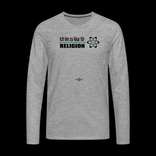 Atheist - Männer Premium Langarmshirt