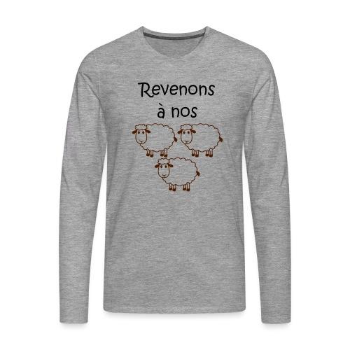 revenons-a-nos utons - T-shirt manches longues Premium Homme