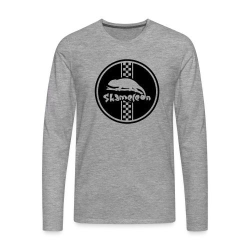 skameleon Logo - Männer Premium Langarmshirt