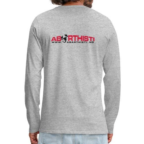 abarthlogored - Premium langermet T-skjorte for menn
