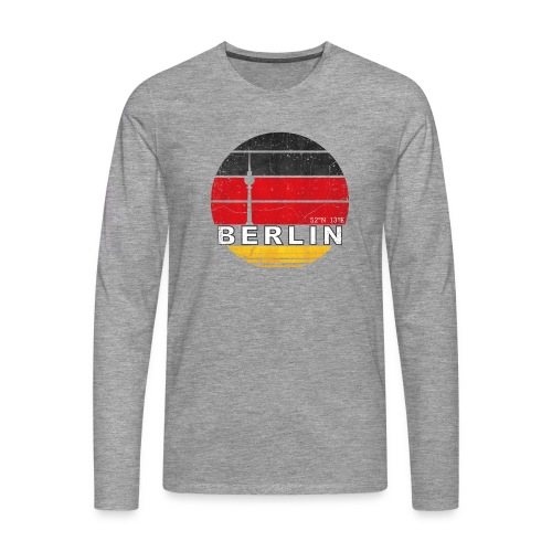 BERLIN, Germany, Deutschland - Men's Premium Longsleeve Shirt