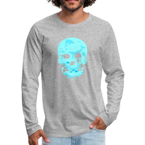 Dead Sea Tshirt ✅ - Männer Premium Langarmshirt