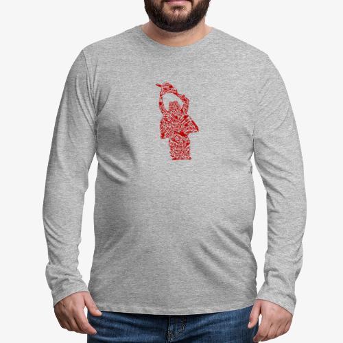 Tronçonneuse - T-shirt manches longues Premium Homme