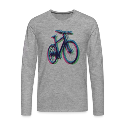 Bike Fahrrad bicycle Outdoor Fun Mountainbike - Men's Premium Longsleeve Shirt