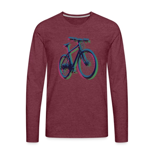 Bike Fahrrad bicycle Outdoor Fun Mountainbike - Men's Premium Longsleeve Shirt