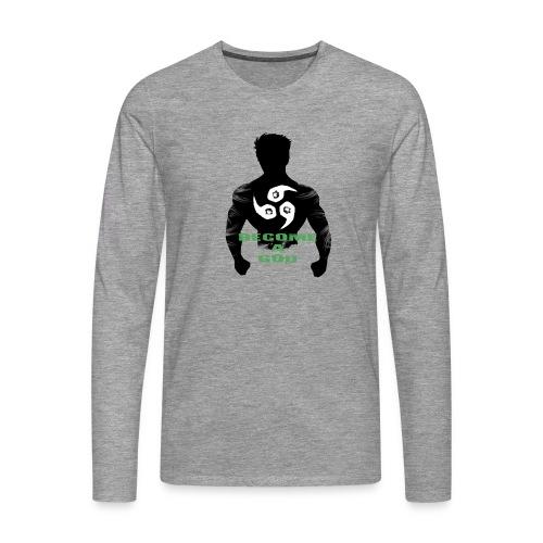 Raijin Become_A_God - Männer Premium Langarmshirt