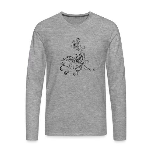 LoGo - Premium langermet T-skjorte for menn