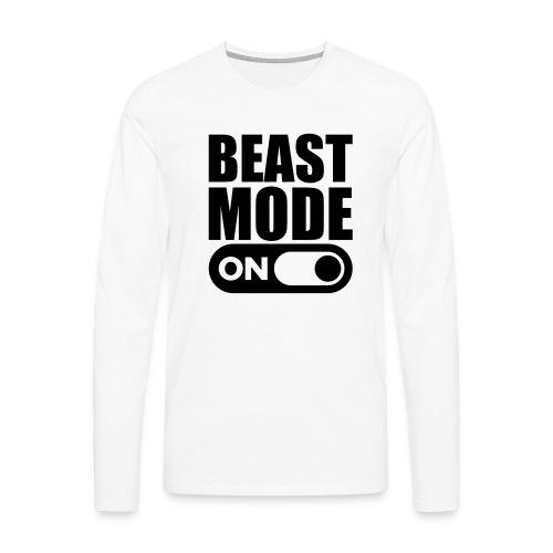 BEAST MODE ON - Men's Premium Longsleeve Shirt