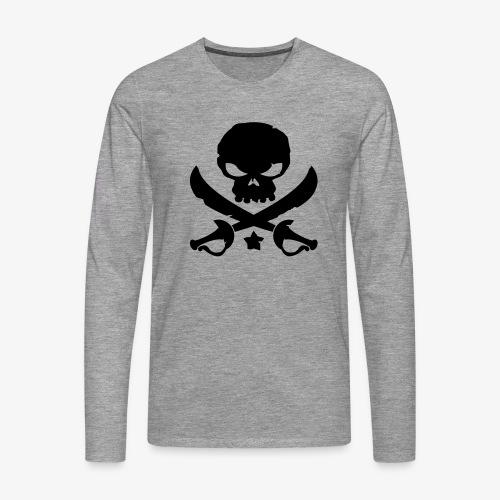 Pirate Destroy - T-shirt manches longues Premium Homme