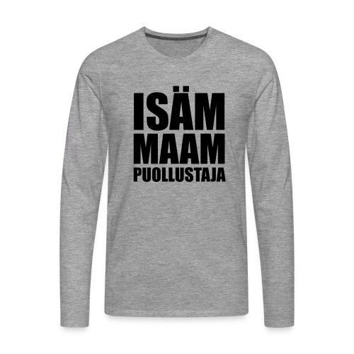 PuollustajaB - Miesten premium pitkähihainen t-paita