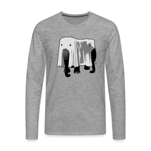 Elefant - Männer Premium Langarmshirt