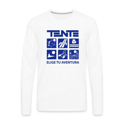 Series de TENTE: Elige tu aventura - Camiseta de manga larga premium hombre