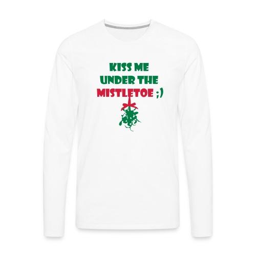 mistletoe - Männer Premium Langarmshirt