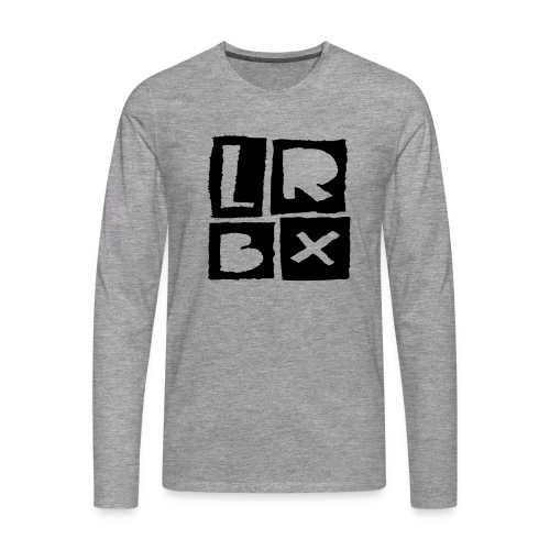 LRBX - La Roulette Bruxelles - Longboard - T-shirt manches longues Premium Homme