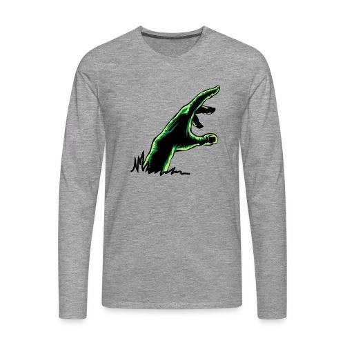 main_zombie - T-shirt manches longues Premium Homme