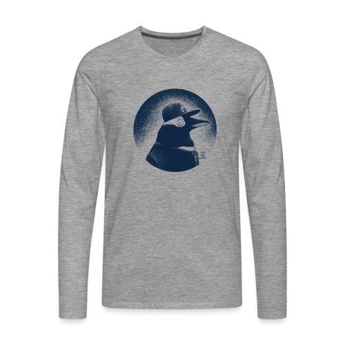 Pinguin dressed in black - Men's Premium Longsleeve Shirt