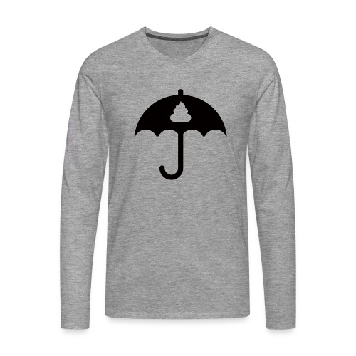 Shit icon Black png - Men's Premium Longsleeve Shirt