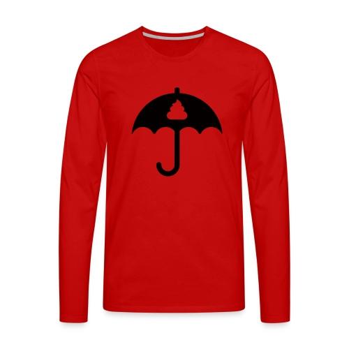 Shit icon Black png - Men's Premium Longsleeve Shirt