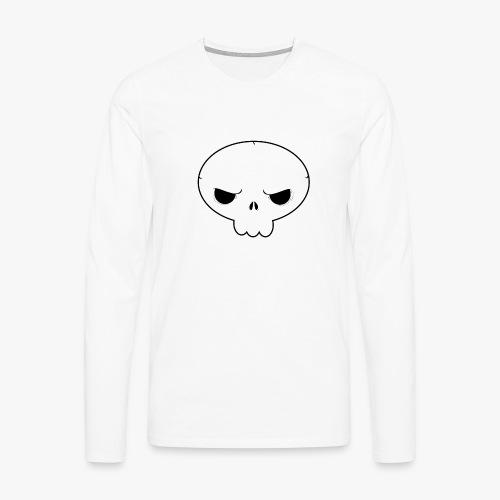Skullie - Herre premium T-shirt med lange ærmer
