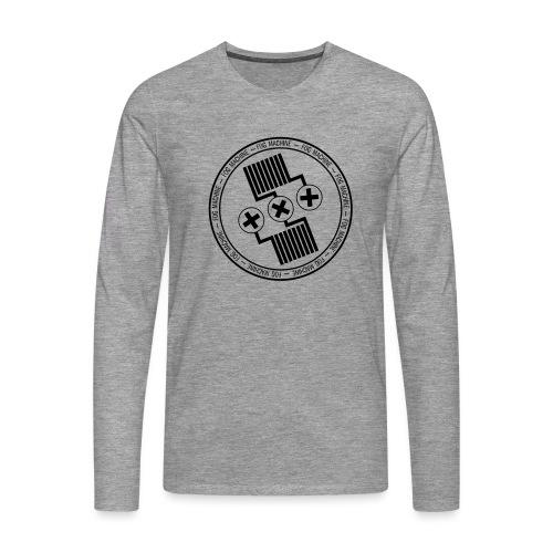 Fog Machine by Vaper Suit - Koszulka męska Premium z długim rękawem