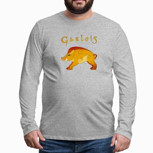 Sanglier Gaulois - T-shirt manches longues Premium Homme
