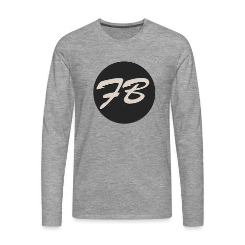 TSHIRT-INSTAGRAM-LOGO-KAAL - Mannen Premium shirt met lange mouwen