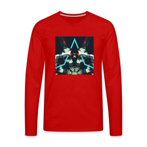 Energize Fields by RNZO - Mannen Premium shirt met lange mouwen