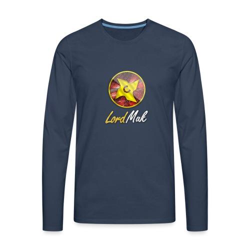 LordMuk shirt - Herre premium T-shirt med lange ærmer