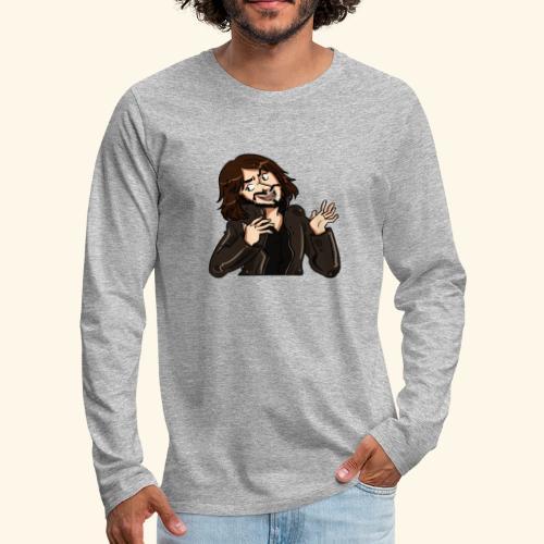 LEATHERJACKETGUY - Men's Premium Longsleeve Shirt