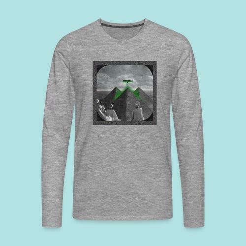 Invaders_sized4t-shirt - Men's Premium Longsleeve Shirt