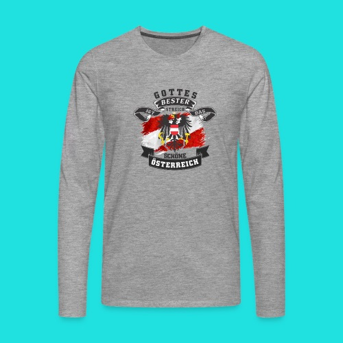 Austria shirt - Männer Premium Langarmshirt