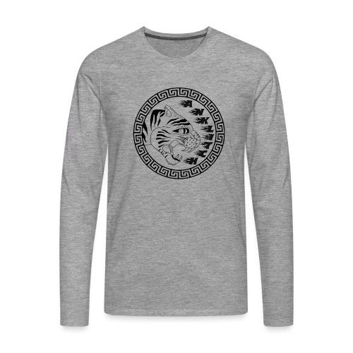 Anklitch - Mannen Premium shirt met lange mouwen