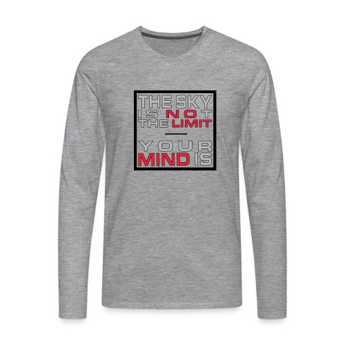 No Limit Mind - Männer Premium Langarmshirt