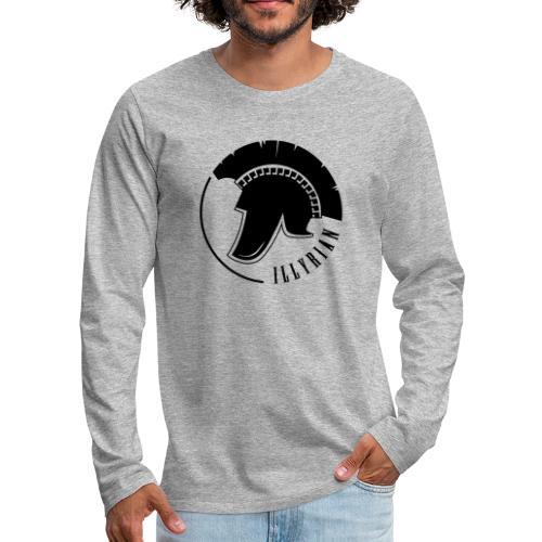 Illyrian Helmet Patrioti - Männer Premium Langarmshirt