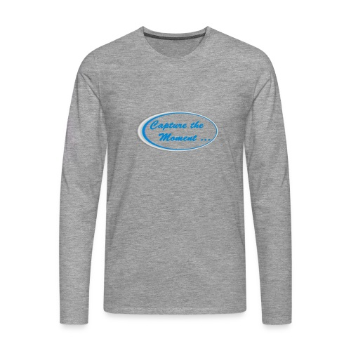 Logo capture the moment - Men's Premium Longsleeve Shirt