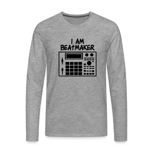 i am beatmaker - T-shirt manches longues Premium Homme