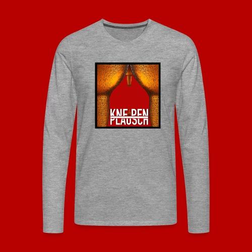 Kneipenplausch Cover Edition - Männer Premium Langarmshirt