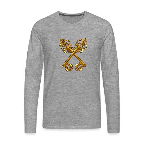 Sweat Membre SDP (Avec votre prénom) - T-shirt manches longues Premium Homme