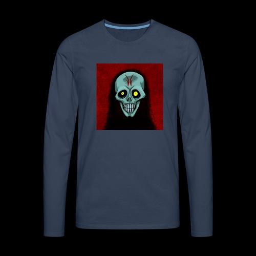 Ghost skull - Men's Premium Longsleeve Shirt