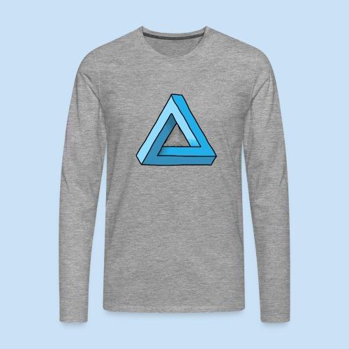 Triangular - Männer Premium Langarmshirt