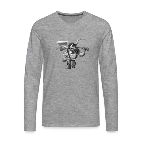 Bull Lumberjack - Männer Premium Langarmshirt