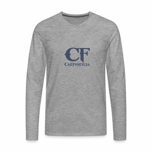 Caepiofilia Marino - Camiseta de manga larga premium hombre