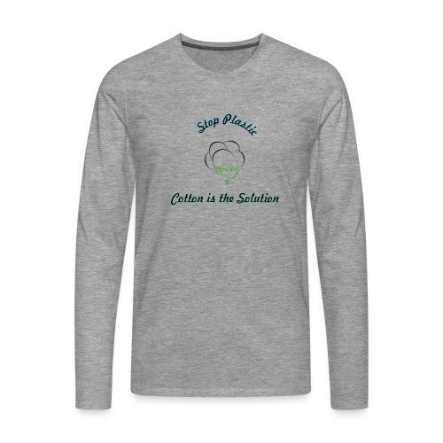 Sopplastic - Männer Premium Langarmshirt