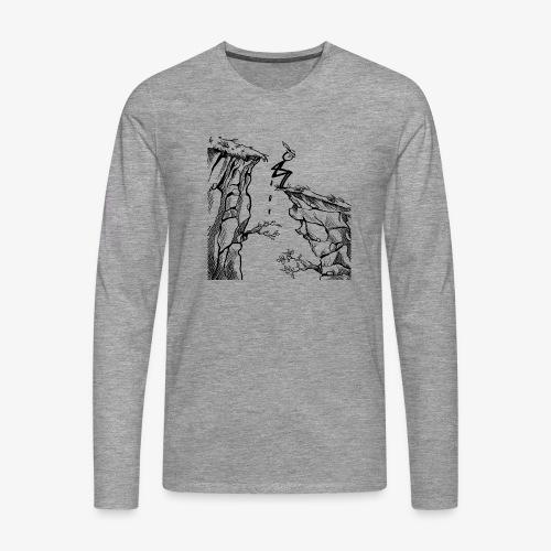 Schluchtenscheisser - Männer Premium Langarmshirt