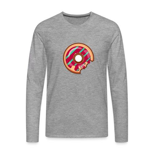 Donuts - Långärmad premium-T-shirt herr