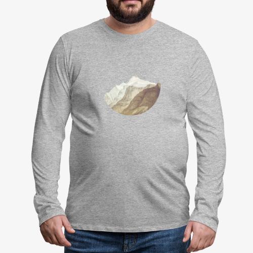 Morgenhorn - Långärmad premium-T-shirt herr