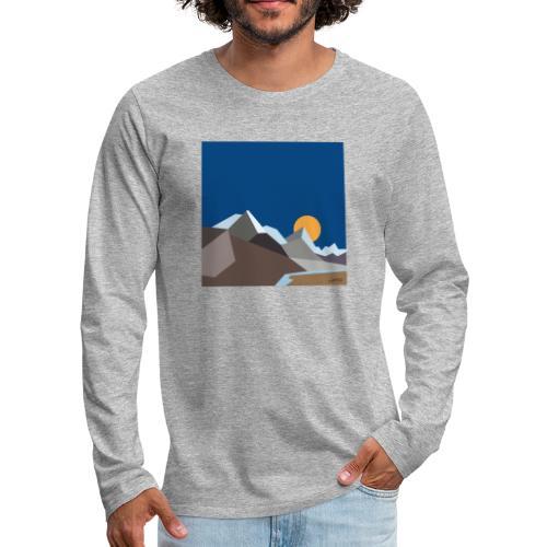 Himalayas - Men's Premium Longsleeve Shirt