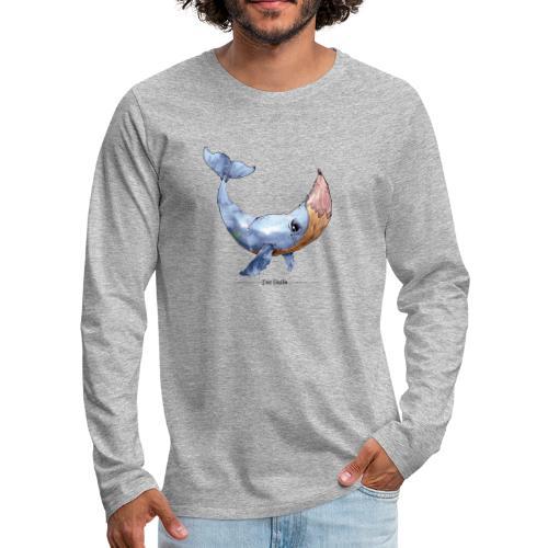 Wal-Stift (Der Holle) - Männer Premium Langarmshirt
