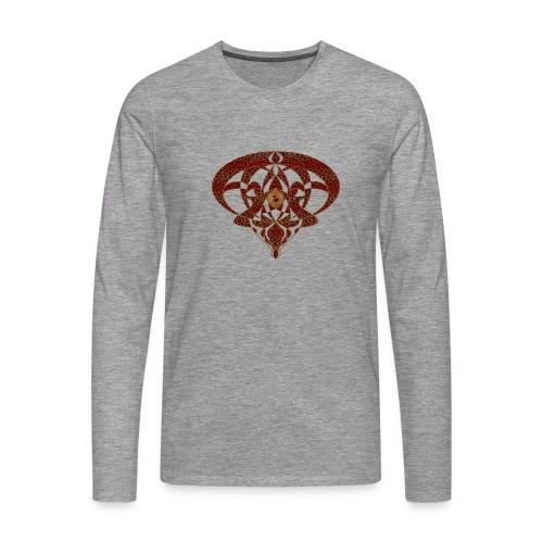 Art Nouveau Art Deco Art Nouveau Vintage Art Gold - Men's Premium Longsleeve Shirt